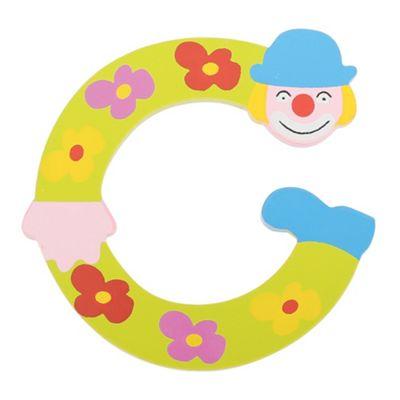 Tatiri Crazy Clown Letter C ((Green) Flowers)