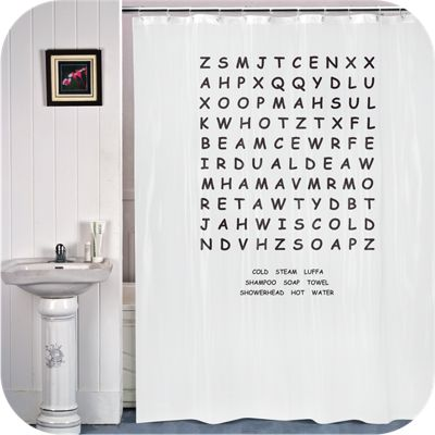 IGGI Word Search Shower Curtain