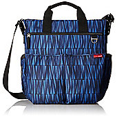 Skip Hop Duo Signature Changing Bag - Blue Graffiti