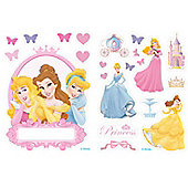 Disney Princess Door Name Sticker