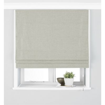 Riva Home Atlantic Natural Roman Blind - 122x137cm