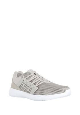 F&F Mesh Micro-Fresh® Trainers Beige/Grey Adult 10