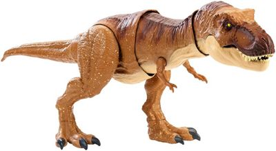 Jurassic World Fmy70 Thrash 'N Throw Tyrannosaurus Rex Figure