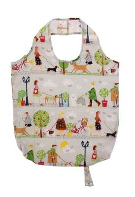 Ulster Weavers Dog Walkies Packable Re-usable Grocery Shopping Bag