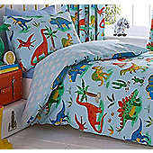 Dinosaur World Toddler Bedding