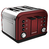 Morphy Richards 242004 Accents  4 Slice Toaster - Red