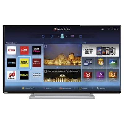 Toshiba 47L6453 47 Inch Smart WiFi Built In Full HD 1080p LED TV with Freeview HD