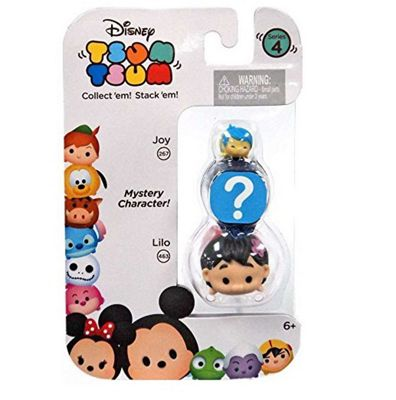 Disney Tsum Tsum Series 4 (Joy, Lilo & Mystery Character)