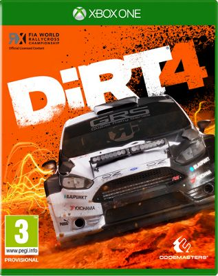 DiRT 4 Day One Edition Xbox One