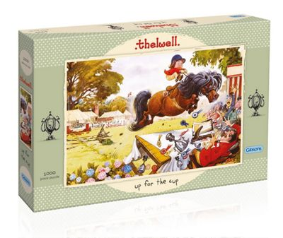 Thelwell - Up for the Cup -1000pc Puzzle
