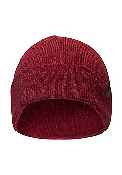 Mountain Warehouse Compass Mens Beanie - Red