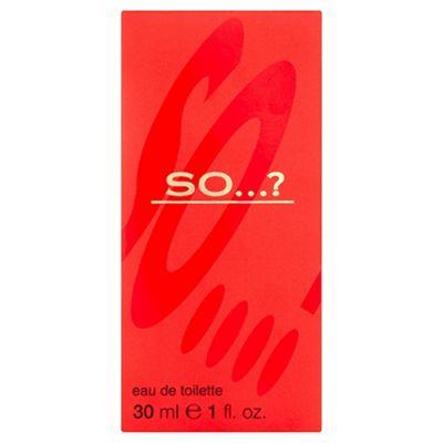 So? Original Edt 30Ml