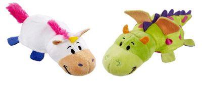 FlipaZoo 2 in 1 Little Flipzees Dragon/Unicorn Plush