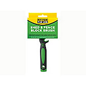 Rodo Fbbb003 Shed & Fence Block Brush 12X3Cm