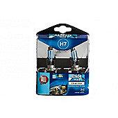 Xenon Mega Bright H7 Headlight Bulbs - Blue