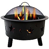 Charles Bentley Moon And Stars Fire Pit