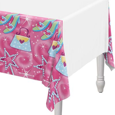 Princess Party Plastic Tablecover