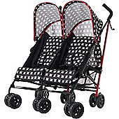 OBaby Apollo Twin Stroller (Crossfire)
