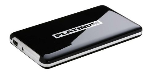 Platinum MyDrive 2.5inch External Hard Drive 320GB HDD Red