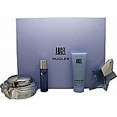 Thierry Mugler Angel Gift Set 50ml EDP + 200ml Body Cream + 100 Shower Gel + 30ml Hair Mist For Women