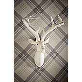 Star Studded Diamante Pearl Stag Head Wall Art Sculpture