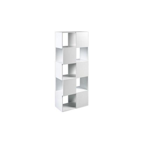 Tema Home Merlon High Bookcase - Pure White