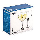 Large Gin Balloon Glasses - Pack of 2 - 55cl