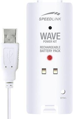 SPEEDLINK Wave Power Kit for Wii, White SL-3402-WT