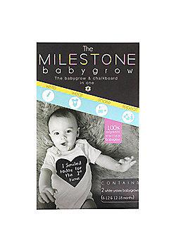 Milestone Babygrow 6-18 Months