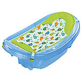 Summer Infant Sparkle and Splash Newborn to Toddler Baby Bath Tub, Blue
