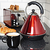 Igenix IG740R 1.8 Litre Pyramid Kettle - Metallic Red