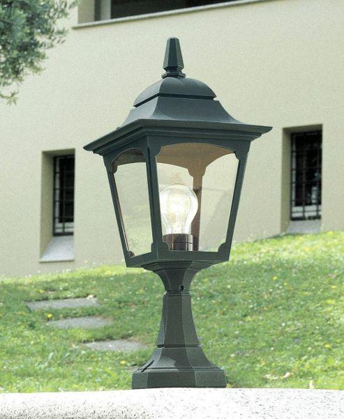 Elstead Lighting Chapel Pedestal Lantern - Black
