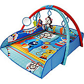 Bebe Style 4 in 1 Animal World Baby Playmat & Gym