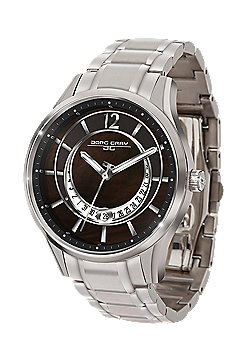Jorg Gray Women' s Watch JG1400-11 Steel Strap Black Dial