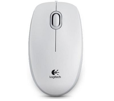 Logitech M100 Optical Mouse - White