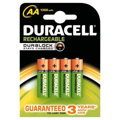 Duracell Best   Value RchargableBatteries AA 4PK
