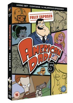 American Dad! - Series 5 - Complete (DVD Boxset)