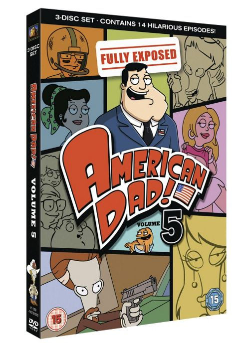 American Dad! - Series 5 - Complete (DVD Boxset)