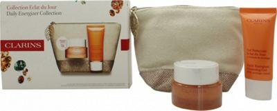 Clarins Radiance Boosting Essentials Gift Set 30ml Eclat Du Jour Cream + 30ml Eclat Du Jour Cleansing Gel