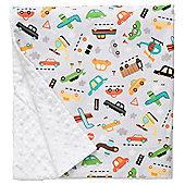 Baby Elephant Ears Luxury Pram Blanket Vroom