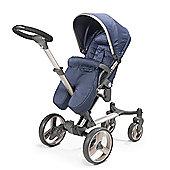 Mee-Go Inspire Stroller/Pram - Blue Denim