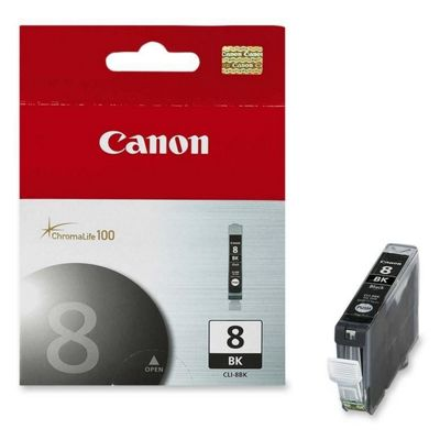 Canon Black Ink Cartridge CLI-8BK