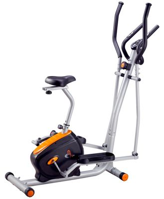 V-fit BK-11 2-in-1 Magnetic Exercise Bike/Elliptical Trainer