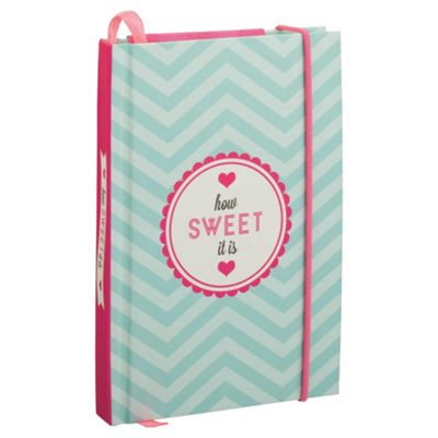 Sweetie Shop A5 Notebook, Includes Pencil, 96 Pages
