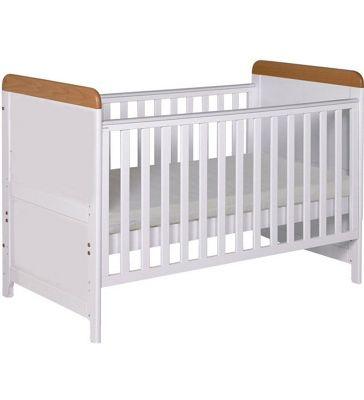 Poppy's Playground Dora Cotbed/Jnr Bed - Pocket Sprung Mattress/Changer
