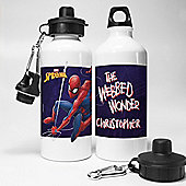 Spider-Man Personalised Water Bottle
