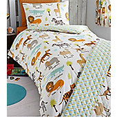 Safari Animals Junior Bedding Set