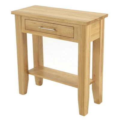 Elements Selby Oak Hall Table - Medium