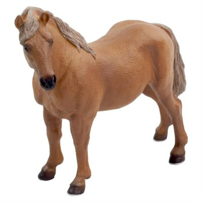 Realistic Suffolk Punch Horse Mare Figurine Toy by Animal Planet