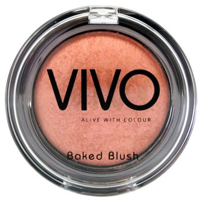 Vivo Baked Blush - Shade 1 - Peaches & Cream